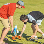 Bottle rocket demonstrations