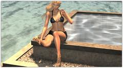 .Aloha Desha (Abi Latzo) Tags: dafnis rhude doux heels sunglasses fashion avatar bento beauty blonde secondlife sl shopping mesh maitreya model meshhead meshbody outdoors outdoor outside people pose photography portrait poses pool