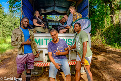 Fijian Guides and Students with Lorry (Dave Byng) Tags: 2018 fiji forestcamp operationwallacea southpacific vanualevu winter forest opwall fieldwork lorry students scientificexpedition expedition