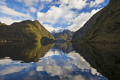 Doubtful Sound (Matt Champlin) Tags: fjordland fjordlandsnationalpark doubtfulsound mountains amazing fjords sound perfect quiet mirror reflections peace peaceful newzealand travel tramping hiking camping adventure canon 2018 friends boat boating cruise cruising beautiful winter