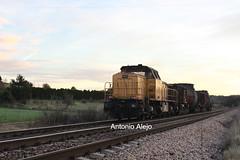 El Valle. Torpedos a ras. (tonialejo 251.025) Tags: elvalle tren mercancias arcelormitral asturias