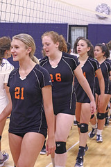 IMG_10277 (SJH Foto) Tags: girls high school jv volleyball perkiomen valley cb east postgame hand slap