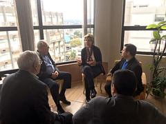 01/09/18 - Inauguração do Comitê de Ijuí com o deputado estadual Adilson Troca e visita ao prefeito Valdir Heck