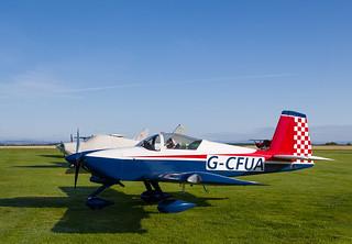 G-CFUA RV-9, Scone