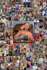 Large Custom Picture Collage Poster Print for 100th Birthday Present! (ProCollage) Tags: photocollages pictures gift ideas idea precious loving special occasions meaningful poster prints collage blended combine images pics photographs files friends family loved ones professional photos photo collages customizable art artwork create personalized beautiful signin board lifetime memories tribute retirement christmas graduation vacation newborn montage large colorful hang perfect couple memorial commemorate celebrate monogram birthday anniversary 5th wedding 70th 50th anniversaries frame design photographic pictoart