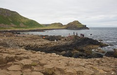 Playing around on the Giant's Causeway (BlängShu) Tags: cliffs giantscauseway northernireland sea