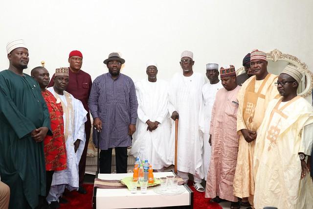 HSDickson- Condolence By RT. HON. Aminu Waziri Tambuwal CFR Sokoto State Governor. 30th August 2018
