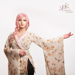 Portraits for Pastel Dreams modern kimono, by SpirosK photography (SpirosK photography) Tags: highkey studio photoshoot product portrait spiroskphotography pasteldreams demetrakazis graywarencosplay highnesscosplay strobist nikon kimono modern modernkimono fashion japanese japaneseinspired japanesefashion