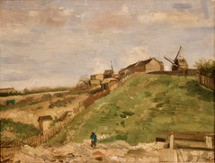 The hill of Montmartre with a stone Quarry - Vincent van Gogh (Val in Sydney) Tags: amsterdam holland rijksmuseum museum vincent van gogh