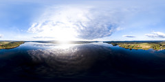 Calm Waters (Fryken) (360x180) (ba7b0y) Tags: equirectangular ptgui pano panorama 360 360x180 dji mavic värmland fryken sunne torsby sweden sverige