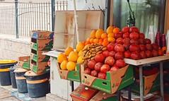 Sidewalk (_mydy) Tags: fruit streetphotography israel cana colors