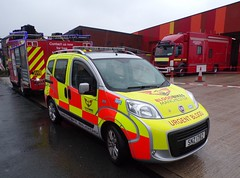 6151 - BBM - SNZ 1782 - 101_2534 (2) (Call the Cops 999) Tags: 999 112 uk gb united kingdom great britain england north west emergency service services fire and rescue open day saturday 8 september 2018 rochdale bbm blood bikes manchester snz 1782 fiat qubo