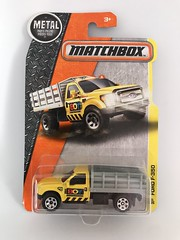 Mattel Matchbox - MBX Construction - Number 52 / 125 - Ford F-350 - Miniature Die Cast Metal Scale Model Vehicle (firehouse.ie) Tags: fseries stakebed stakebody toys toy mb51 2015 mbxconstruction mbx pickup truck f350 ford models model metal miniatures miniature matchbox mattel