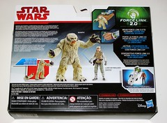 wampa and luke skywalker hoth star wars the last jedi red and white card creature and basic action figure force link 2017 hasbro misb b (tjparkside) Tags: wampa luke skywalker hoth star wars last jedi 2017 2018 hasbro basic action figure figures creature snow ice planet episode v five 5 tesb esb empire strikes back cave force link 20 green razor sharp fangs claws white fur tauntaun taun tauns lightsaber blaster pistol holster headgear jacket 5poa red card misb from