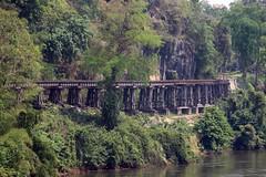 Death Railway, Kanchanaburi, Thailand 2018 (Dis da fi we) Tags: bridge river kwai kanchanaburi thailand burma railway