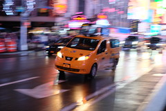 NYC Taxi Cab (dangaken) Tags: ny nyc newyorkcity newyorknewyork newyorkny bigapple empirestate city urban eastcoast september2018 september timessquare broadway 7thave times square public crowd bustle usa america manhattan midtownmanhattan upperwestside downtown pan blur motionblur ta panshot taxi cab taxicab yellowcab motion moving street car wheelchair handicapped