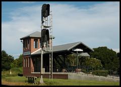 Plant City RR Viewing Platform (Dusty_73) Tags: rr railroad crossing willaford museum plant city florida fl usa tampa bay csx train signal tracks railfan viewing platform hillsborough county