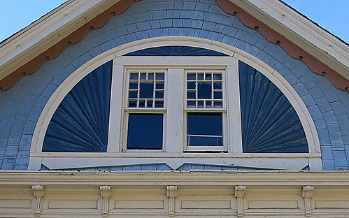 A two-window fan, Cherryfield, Maine