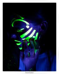 Fluo Paint (camperpida) Tags: fluorescentpaint celiafluo fluoridefreetoothpaste fluorites fluorapatite fluoritepoint fluoxetina fluoshoes fluohair fluorose fluoroscopy fluorescein fluorart fluoparty shooting model modella officina fotografica bologna