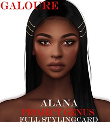 G // Alana Shape - Genus Project !Available Now ! (galoureshapes) Tags: galoure genus project custom shape shapes bento atelier pepe little bones second life sl