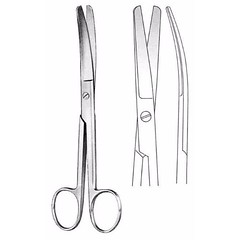 Standard Operating Scissors 18.5 cm , Blunt/Blunt Curved (jfu.industries) Tags: blunt curved general health healthcare hospital industries instruments jfu medical operating pakistan scissors standard surgery surgical surgicalinstruments