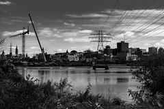 Enough (Bert CR) Tags: laborday ottawa blackandwhite blackwhite monochrome bw city citylife gatineau cycling development electricity hydro construction enough neverenough