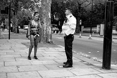 """What do you mean it was last week?"" (Hugh Rawson) Tags: england london nottinghillcarnival uk candid carnival city street streetphotograph streetphotographer streetphotography urban"
