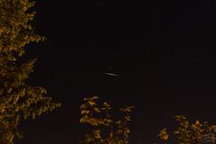 Flare of Iridium 54 / @ 18 mm / 2018-08-20 (astrofreak81) Tags: iridiumflare iridium flare 1998010c brightness sun dresden light dark night sky heaven himmel satellite astro astrofreak81 20180820