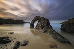 The Arch (Tony N.) Tags: france bretagne finistère cloharscarnoët arche arch beach beachscape sea seascape mer rochers rocks sky ciel matin morning poselongue longexposure nisi nisiprov5 nisicplpro nisignd8 nisind1000 d810 nikkor1635f4 nikon tonyn tonynunkovics