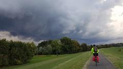 Storm chaser (katy1279) Tags: stormstormcloudsstormchasercyclingnetherlandscyclingheaven