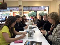 31/08/18 - Café com o vereador Cleberson Gardin, amigos e lideranças em Santo Ângelo