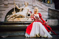 Nero Claudius (ネロ・クラウディウス) (btsephoto) Tags: cosplay costume play コスプレ anime fuji fujifilm xt2 portrait otakuthon convention montreal quebec palais des congrès de montréal québec flashpoint ttl pocket flash evolv 200 r2 godox a200 nero claudius ネロ クラウディウス ネロ・クラウディウス emperor roses 薔薇の皇帝 red saber fategrand order fate grand aniplex video games delightworks fujinon xf 23mm f14 r lens