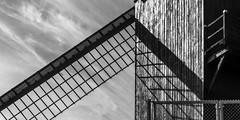 koeleweimolen (rey perezoso) Tags: 2018 windmill bruges cloud blackandwhite windmühle bw brugge belgium europa eu lines backlight shadow day belgique belgië europe mill