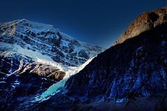 Morning Light on Angel Glacier, Jasper National Park, Alberta (klauslang99) Tags: klauslang nature naturalworld northamerica national jasper park alberta canada angel glacier landscape rocks ice mountains