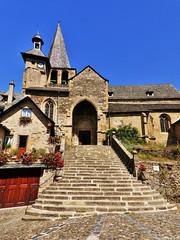 Église Saint-Fleuret d'Estaing (doumé piazzolli) Tags: églisesaintfleuretdestaing aveyron languedoc eglise fz200 patrimoine france