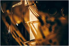 Ornamented Strings (Thomas Listl) Tags: thomaslistl color grandpiano music bösendorfer gustavklimt reflection mirror abstract strings jazz eggenfelden gold