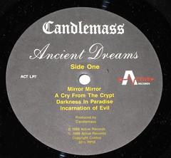 "CANDLEMASS ANCIENT DREAMS SIGNED LYRICS INSERT 12"" LP (vinylmeister) Tags: vinylrecords albumcoverphotos gramophone lp heavymetal thrashmetal deathmetal blackmetal vinyl schallplatte disque album"