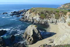 Bodega Head State Beach (Randy Gardner 88) Tags: bodega bodegabay bodegaheadstatebeach bodegaheadlands pacificocean pacificcoast pacific california californiacoast beach waves water sand footprints rocks surf