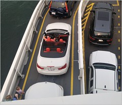 BC Ferries Convertible BC18h17 LG (CanadaGood) Tags: canada bc britishcolumbia horseshoebay westvancouver bcferries bmw ferry parking howesound people person canadagood 2018 thisdecade color colour cameraphone