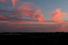 Nuvole rosse ....al tramonto (dona(bluesea)) Tags: nuvole clouds cielo sky nuvolerosse redclouds tramonto sunset marsala sicilia sicily italy