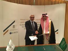 Saudi Arabia signs landmark agreement to strengthen its tax treaties (OECDtax) Tags: mli saudi arabia oecd