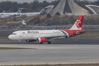 EP-TAC, Airbus A320-231 ATA Airlines @ Istanbul Atatürk IST LTBA