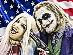 wizard world 2016 (timp37) Tags: photolab wizard world comic con august 2016 cosplayers cosplay joker harley quinn chicago illinois rosemont