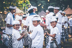 BALI, INDONESIA - JULY 4, 2018: Balinese children on a traditional ceremony. (Artem Bali) Tags: balinese asia child indonesia asian bali indonesian traditional culture people young boy kid smile travel happy outdoor editorial person portrait cute face beautiful childhood lifestyle little fun girl happiness looking children tradition hinduism religion decoration school hindu ubud southeast male tourism style poverty nyepi dress costume island destination kids procession