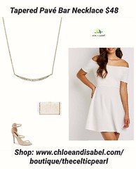 Today's Featured Item: Tapered Pavé Bar Necklace $48 Shop: https://www.chloeandisabel.com/boutique/thecelticpearl/products/N647CLSS/tapered-pav-bar-necklace  Go from day to night + season to season with this look-of-fine favorite! Designed for layering or (thecelticpearl) Tags: crystal layers sparkle style thecelticpearl sweet trend ootd daily product necklace shiny shopping simple online crystals featured accessories new shop trendy guarantee chloeandisabel fashion cubiczirconia minimalist buy love jewelry trending trends boutique rhodium lifetime gold
