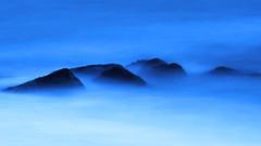 Foamy Solent Sea (fstop186) Tags: foamy solent sea water stones beach dreamy misty blue goldenhour abstract waves rocks nd3 bigstopper optech rainsleeve longexposure