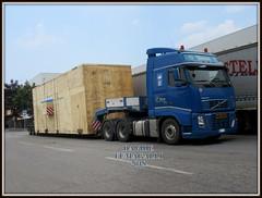 Volvo FH16-660 (DaveFuma) Tags: volvo fh16 660 camion trattore stradale strasporto eccezionale truck lorry wide load lkw schwertransporte goldhofer