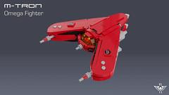 M-Tron Omega Fighter (CK-MCMLXXXI) Tags: lego moc mtron omega fighter starfighter space
