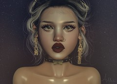 Young, Dumb and Famous (Allie (Lilly Sunflower)) Tags: enfersombre sanarae bossie s0ng pumec swallow misschelsea shortleash lamb secondlife sl allie fashion