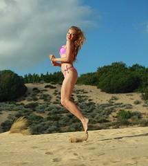 Albina Belova. Ph. Antonio Ennas (albinabelova) Tags: vogue fashion blondes beauty beautifulgirls top beaches pink swimwear nike sport style singer model albinabelova